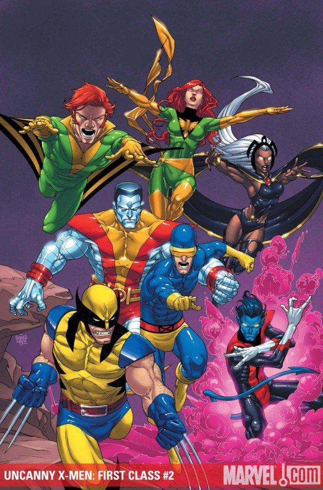 Uncanny X-Men First Class dans la collection Panini Kids dans ComicsVF 119un10