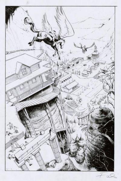 Percy Jackson le voleur de foudre dans coup de coeur de la semaine thelightningthiefgnpage40