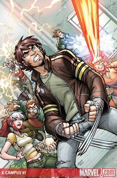 X-Campus : les X-Men retournent à l'école dans ComicsVF 143xcampus1