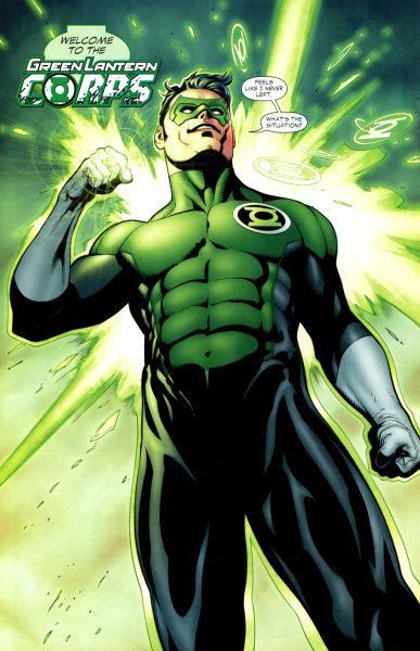 Green Lantern : un Big Book et un DVD en attendant le cinéma dans ComicsVF kylerayner06