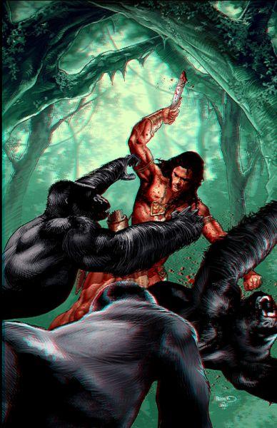 Tarzan en 3D dans image de la semaine tarzan3d