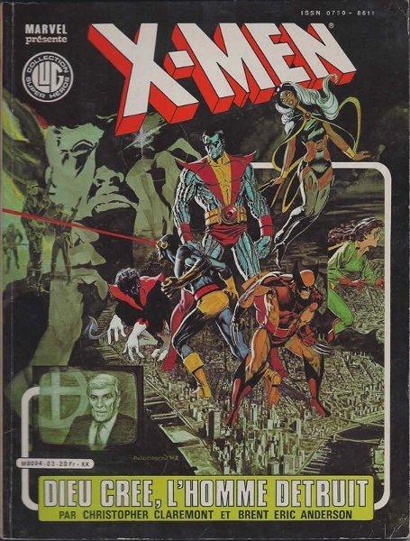 X-Men Dieu crée l'homme détruit dans ComicsVF xmen3