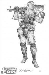 Watchmen les préquelles : les premiers dessins watchmen-comedian-197x300